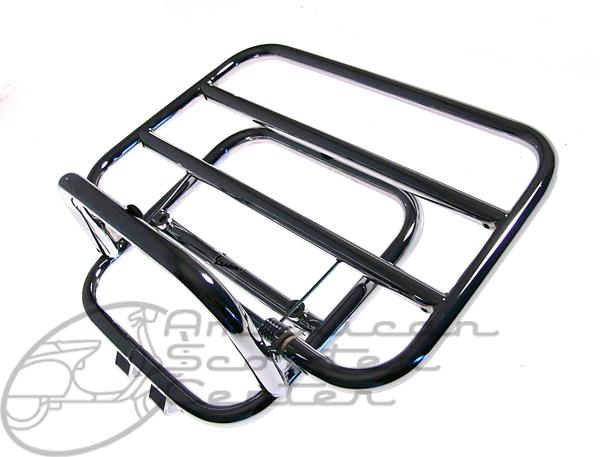 LX Piaggio rear rack - Click Image to Close