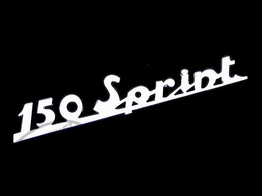Vespa 150 Sprint emblem - Click Image to Close