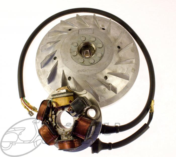 PK VMX6 ETS Flywheel Stator Assembly - Click Image to Close