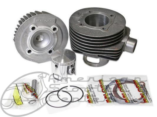 Malossi 166 Cylinder Kit - Click Image to Close