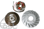 12V Points Stator & Flywheel
