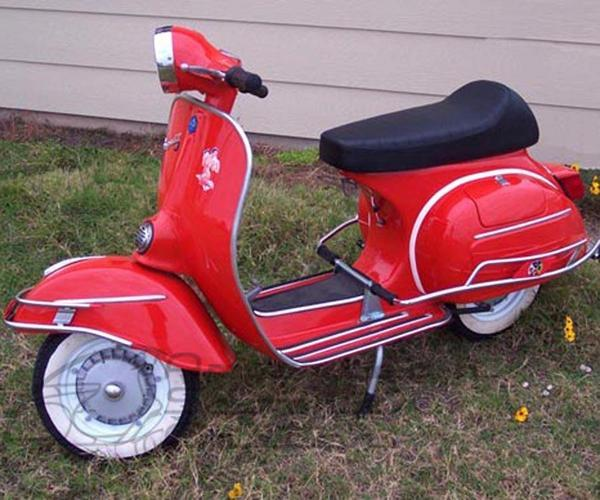 SOLD - 1971 Vespa GTR - Click Image to Close