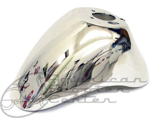 Chrome Front Fender - Click Image to Close