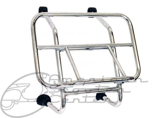 Universal Chrome Front Rack - Click Image to Close
