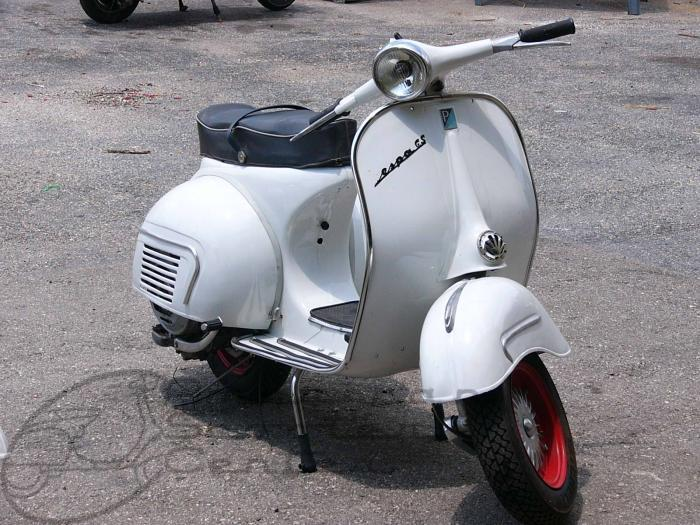 SOLD - Vespa GS 160 MKII - Click Image to Close