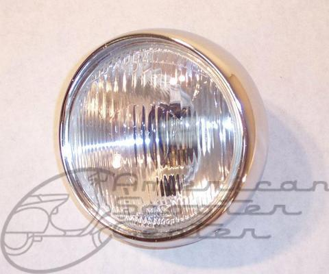 Vintage Round Headlight - Click Image to Close