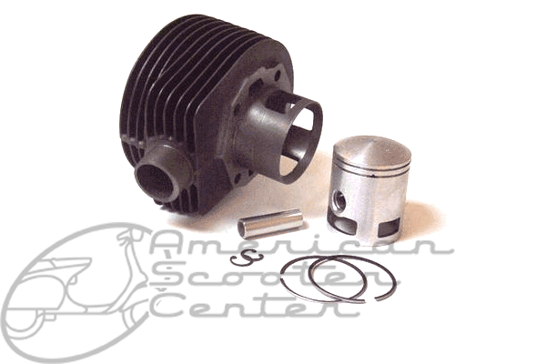 2 or 3 Port 166cc Cylinder Kit - Click Image to Close