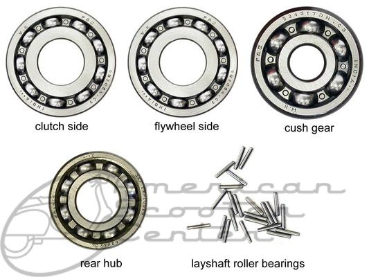 GL/Sprint Engine Bearing Set - Click Image to Close